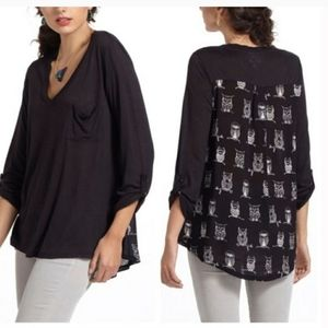 Anthropologie Whimsy Motifs Blouse